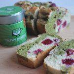 Raspberry, Lemon & Matcha Marble Loaf Recipe