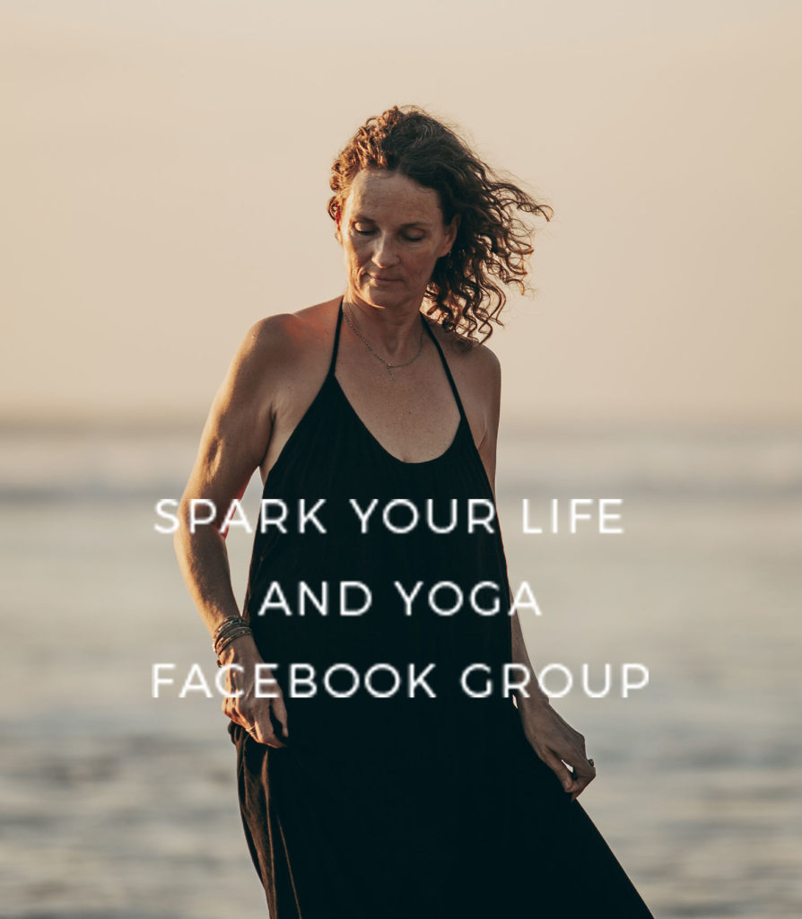 Spark your life and yoga facebook group
